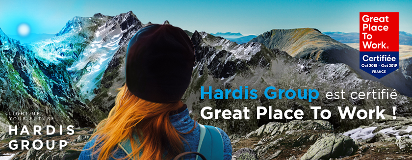 Hardis Group obtains Great Place to Work certification